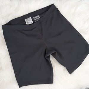 Gray new balance spandex shorts medium